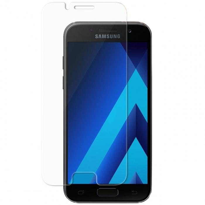 محافظ صفحه نمایش شیشه ای اسپیگن مدل GLAS.tR SLIM مناسب برای گوشی موبایل سامسونگ Galaxy A3 2017