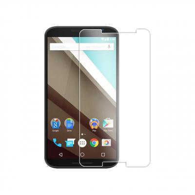 محافظ صفحه نمایش شیشه ای تمپرد مناسب برای گوشی موبایل موتورولا Nexus 6 (بی رنگ شفاف)