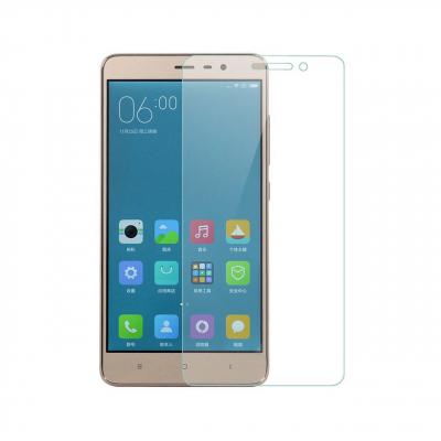 محافظ صفحه نمایش شیشه ای تمپرد مناسب برای گوشی موبایل شیاومی Redmi 3 (بی رنگ شفاف)