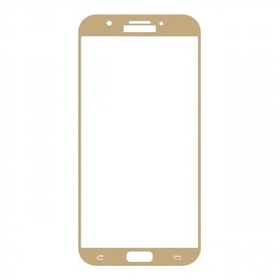 محافظ صفحه نمایش شیشه ای تمپرد مدل Full Cover مناسب برای گوشی موبایل سامسونگ Galaxy A7 2017 (مشکی)