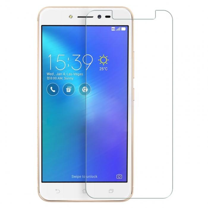 محافظ صفحه نمایش شیشه ای مدل Temperedمناسب برای گوشی موبایل ایسوس Zenfone Live ZB501KL