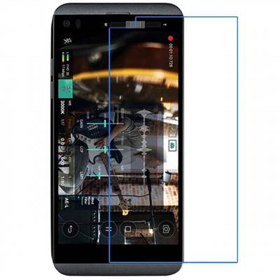محافظ صفحه نمایش شیشه ای مدل Tempered مناسب برای گوشی موبایل LG Q8 (بی رنگ شفاف)