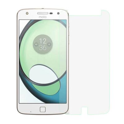 محافظ صفحه نمایش شیشه ای مدل تمپرد مناسب برای گوشی موبایل موتورولا Moto Z Play (بی رنگ شفاف)