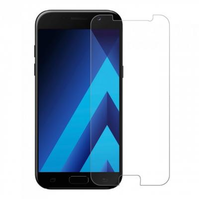 محافظ صفحه نمایش شیشه ای مدل تمپرد مناسب برای گوشی موبایل سامسونگ A7 2017 (بی رنگ)
