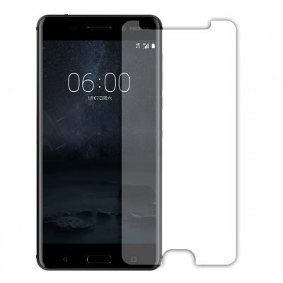 محافظ صفحه نمایش شیشه ای مدل Tempered مناسب برای گوشی موبایل نوکیا 6 (بی رنگ)