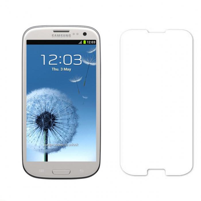 محافظ صفحه نمایش مدل Glass i9300 مناسب برای گوشی موبایل سامسونگ مدل S3