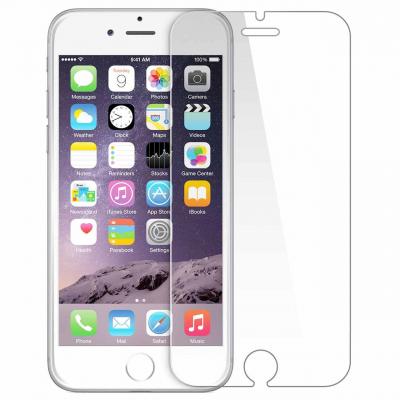 محافظ صفحه نمایش شیشه ای 9 اچ مناسب برای گوشی آیفون 6 (بی رنگ)