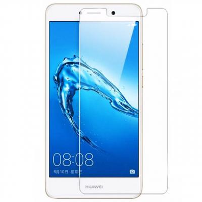 محافظ صفحه نمایش شیشه ای مدل Tempered مناسب برای گوشی موبایل هوآوی Y7 (بی رنگ شفاف)