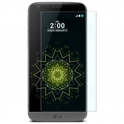 محافظ صفحه نمایش شیشه ای 9H مناسب برای گوشی موبایل ال جی G5 (بی رنگ)