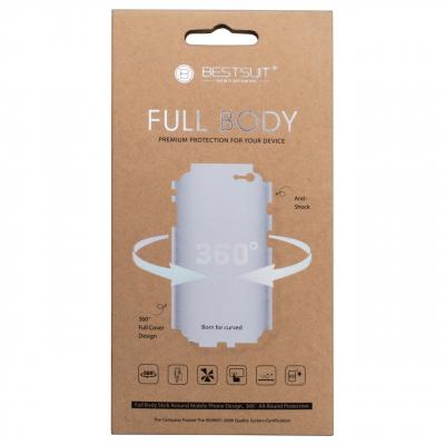 محافظ صفحه نمایش تی پی یو بست سوت مدل Full Body مناسب برای گوشی موبایل اپل آیفون 6/6S (بی رنگ)
