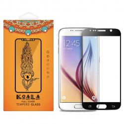 محافظ صفحه نمایش شیشه ای کوالا مدل Full Cover مناسب برای گوشی موبایل سامسونگ Galaxy S7 (طلایی)