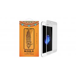 محافظ صفحه نمایش شیشه ای مات کوالا مدل Full Cover مناسب برای گوشی موبایل اپل آیفون 6/ 6S (مشکی)