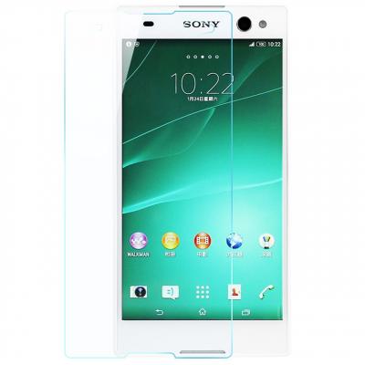 محافظ صفحه نمایش شیشه ای تمپرد مناسب برای گوشی موبایل سونی Xperia C3 (بی رنگ شفاف)