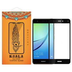 محافظ صفحه نمایش شیشه ای کوالا مدل Full Cover مناسب برای گوشی موبایل هوآوی Nova (طلایی)