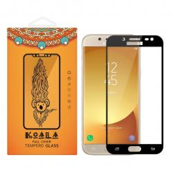 محافظ صفحه نمایش شیشه ای کوالا مدل Full Cover مناسب برای گوشی موبایل سامسونگ Galaxy J5 2016 (مشکی)