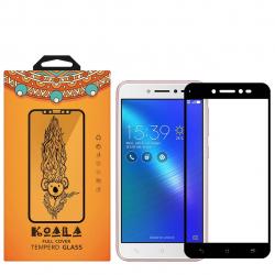 محافظ صفحه نمایش شیشه ای کوالا مدل Full Cover مناسب برای گوشی موبایل ایسوس Zenfone Live ZB501KL (مشکی)