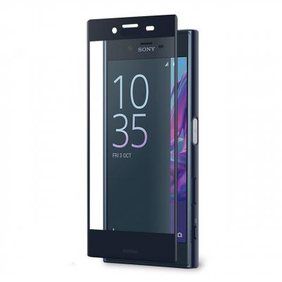 محافظ صفحه نمایش شیشه ای بوف مدل 5D مناسب برای گوشی سونی XZ (مشکی)