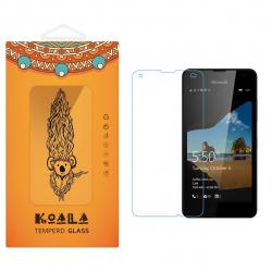 محافظ صفحه نمایش شیشه ای کوالا مدل Tempered مناسب برای گوشی موبایل مایکروسافت لومیا 550