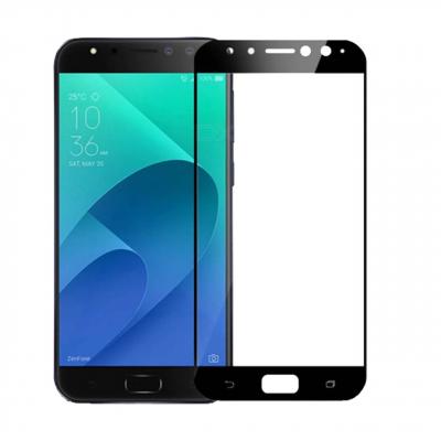 محافظ صفحه نمایش شیشه ای تمپرد مدل Full Cover مناسب برای گوشی موبایل ایسوس Zenfone 4 Selfie Pro (مشکی)