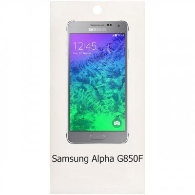 محافظ صفحه نمایش شیشه ای مدل Sum Plus مناسب برای گوشی موبایل سامسونگ Galaxy Alpha G850F (بی رنگ شفاف)