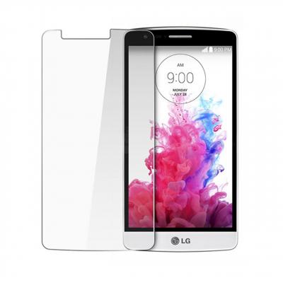 محافظ صفحه نمایش شیشه ای مدل Tempered مناسب برای گوشی موبایل ال جی G3 (بی رنگ شفاف)