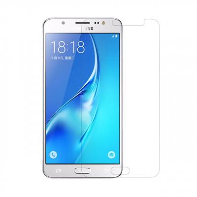 محافظ صفحه نمایش شیشه ای مدل Tempered مناسب برای گوشی موبایل سامسونگ Galaxy J5 2016 (بی رنگ شفاف)