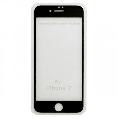 محافظ صفحه نمایش موکول مدل Full Cover Tempered Glass مناسب برای گوشی موبایل آیفون 7/8 (مشکی)
