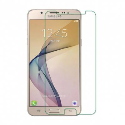 محافظ صفحه نمایش شیشه ای مدل Tempered مناسب برای گوشی موبایل سامسونگ Galaxy J7 Prime (بی رنگ شفاف)