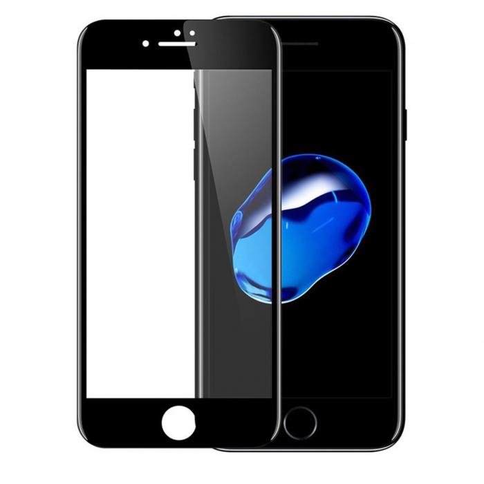 محافظ صفحه نمایش شیشه ای موکولو مدل 3D مناسب برای گوشی موبایل iPhone 8 plus