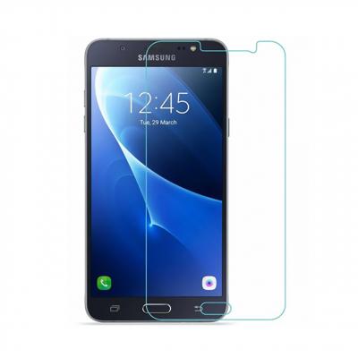 محافظ صفحه نمایش شیشه ای مدل Tempered مناسب برای گوشی موبایل سامسونگ Galaxy J7 2016 (بی رنگ شفاف)