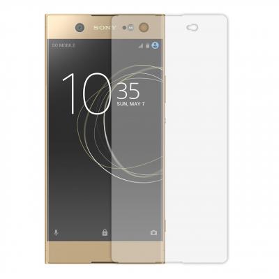 محافظ صفحه نمایش شیشه ای مدل Tempered مناسب برای گوشی موبایل سونی Xperia XA1 Ultra (بی رنگ)
