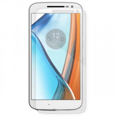 محافظ صفحه نمایش شیشه ای مدل Tempered مناسب برای گوشی موبایل موتورولا Moto G4 (بی رنگ شفاف)