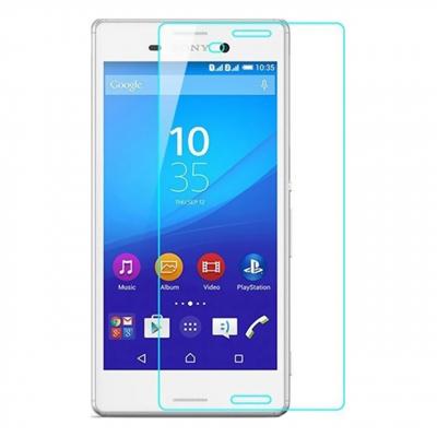 محافظ صفحه نمایش شیشه ای مدل Tempered مناسب برای گوشی موبایل سونی Xperia M4 (بی رنگ)