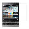 محافظ صفحه نمایش شیشه ای مدل Tempered مناسب برای گوشی موبایل بلک بری Passport Silver Edition
