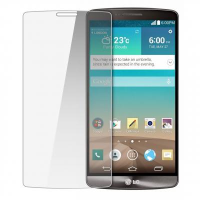 محافظ صفحه نمایش شیشه ای مدل Tempered مناسب برای گوشی موبایل ال جی G3 Stylus (بی رنگ)