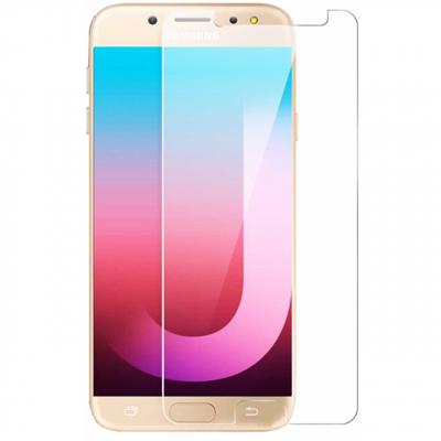 محافظ صفحه نمایش شیشه ای مدل Tempered مناسب برای گوشی موبایل سامسونگ Galaxy J7 Max (بی رنگ شفاف)