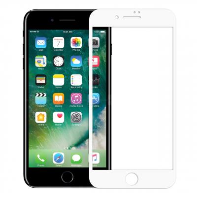 محافظ صفحه نمایش شیشه ای موکول مناسب برای گوشی موبایل اپل آیفون 7 پلاس (مشکی)