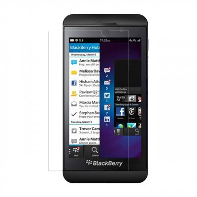 محافظ صفحه نمایش شیشه ای تمپرد مناسب برای گوشی موبایل بلک بری Z30 (بی رنگ شفاف)