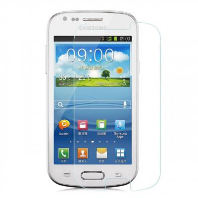 محافظ صفحه نمایش شیشه ای مدل Tempered مناسب برای گوشی موبایل سامسونگ Galaxy S3 Mini (بی رنگ)