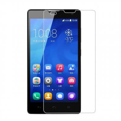 محافظ صفحه نمایش شیشه ای مدل Tempered مناسب برای گوشی موبایل هوآوی Honor 3C (بی رنگ شفاف)