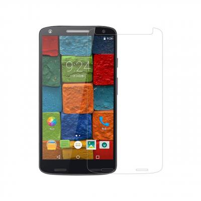 محافظ صفحه نمایش شیشه ای تمپرد مناسب برای گوشی موبایل موتورولا Moto X Force (بی رنگ شفاف)