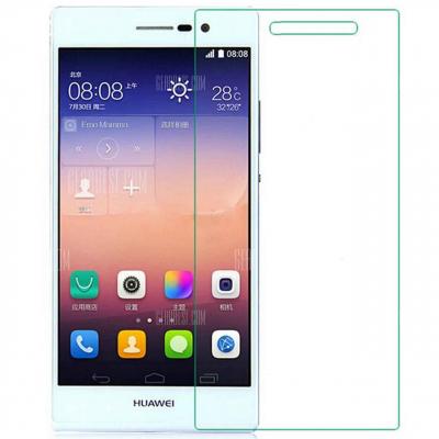 محافظ صفحه نمایش شیشه ای 9H برای گوشی هوآوی P7 (بی رنگ)