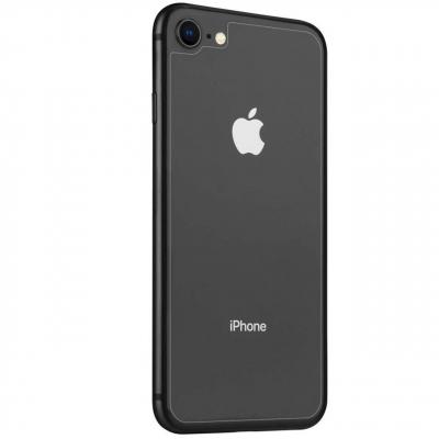 محافظ پشت گوشی شیشه ای نیلکین مدل Amazing H مناسب برای گوشی موبایل  اپل iPhone 8 (بی رنگ شفاف)