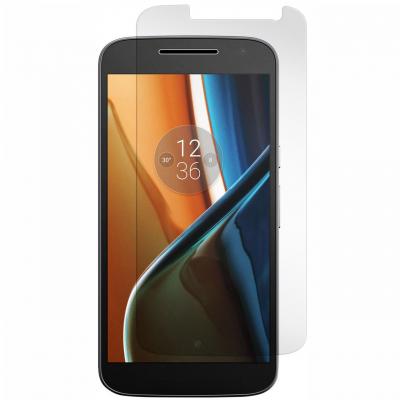 محافظ صفحه نمایش شیشه ای مدل Tempered مناسب برای گوشی موبایل موتورولا Moto G Play (بی رنگ شفاف)
