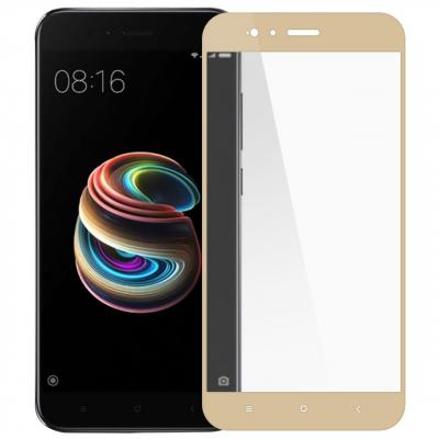 محافظ صفحه نمایش شیشه ای تمپرد مدل Full Cover مناسب برای گوشی موبایل شیائومی Redmi 5X (مشکی)