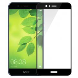 محافظ صفحه نمایش شیشه ای تمپرد مدل Full Cover مناسب برای گوشی موبایل هوآوی Nova 2