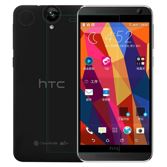 محافظ صفحه نمایش شیشه ای مدل Tempered مناسب برای گوشی موبایل اچ تی سی One E9 Plus