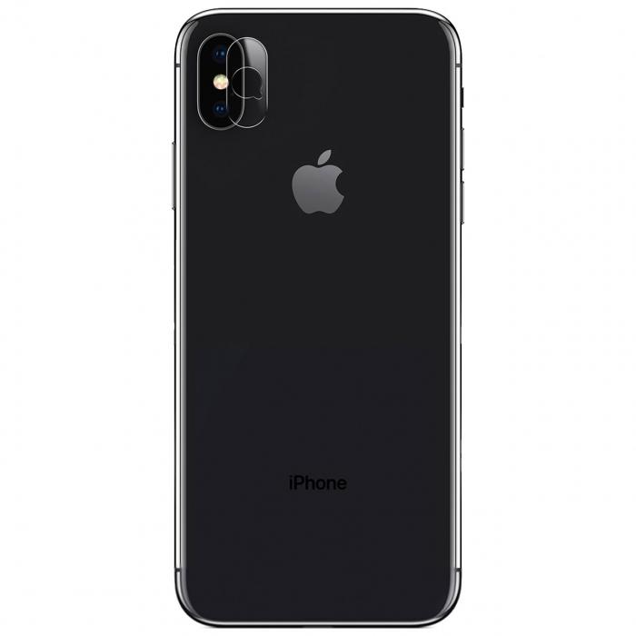 محافظ لنز دوربین شیشه ای یو سَمز مدل تمپرد مناسب برای گوشی موبایل اپل آیفون X
