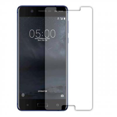 محافظ صفحه نمایش شیشه ای مدل Tempered مناسب برای گوشی موبایل نوکیا 5 (بی رنگ)