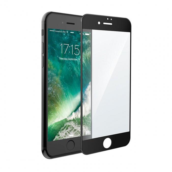 محافظ صفحه نمایش آر جی مدل Full Cover Tempered Glass مناسب برای گوشی موبایل آیفون 7 پلاس
